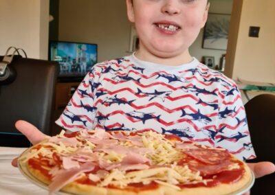 Eoin pizza